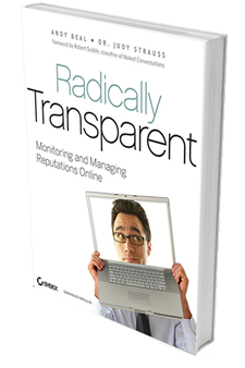 Radically Transparent Book Cover