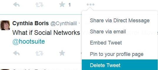 how to delete your whole tweets