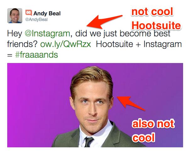 Hootsuite Ryan Gosling
