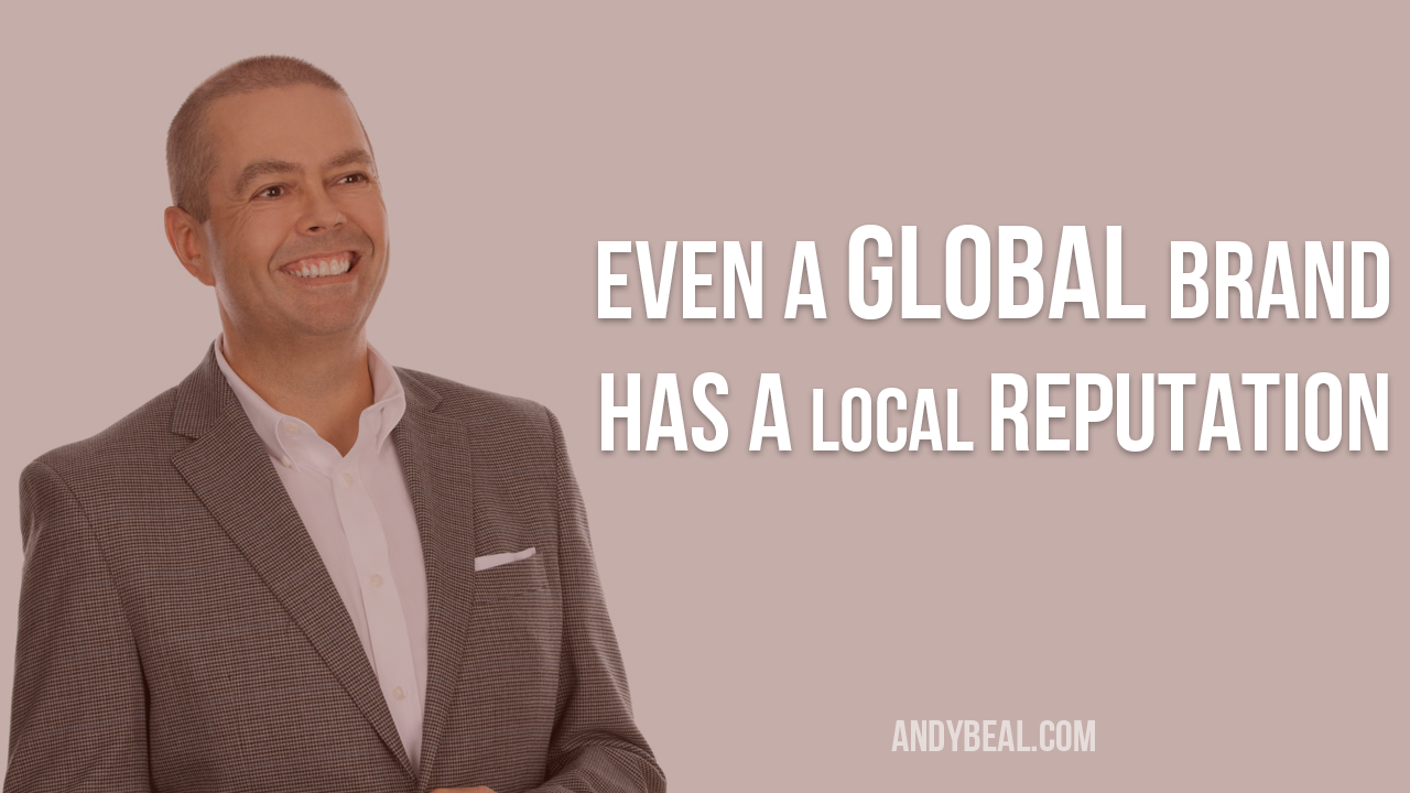 Global and local reputation management